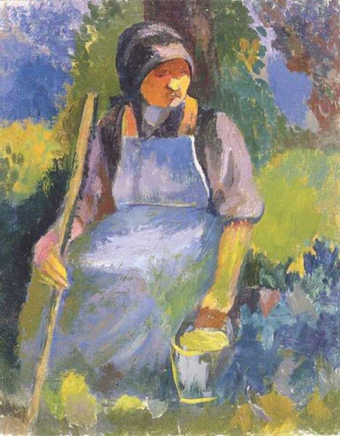 Марґіт Сельська, Відпочинок, 1940 р.