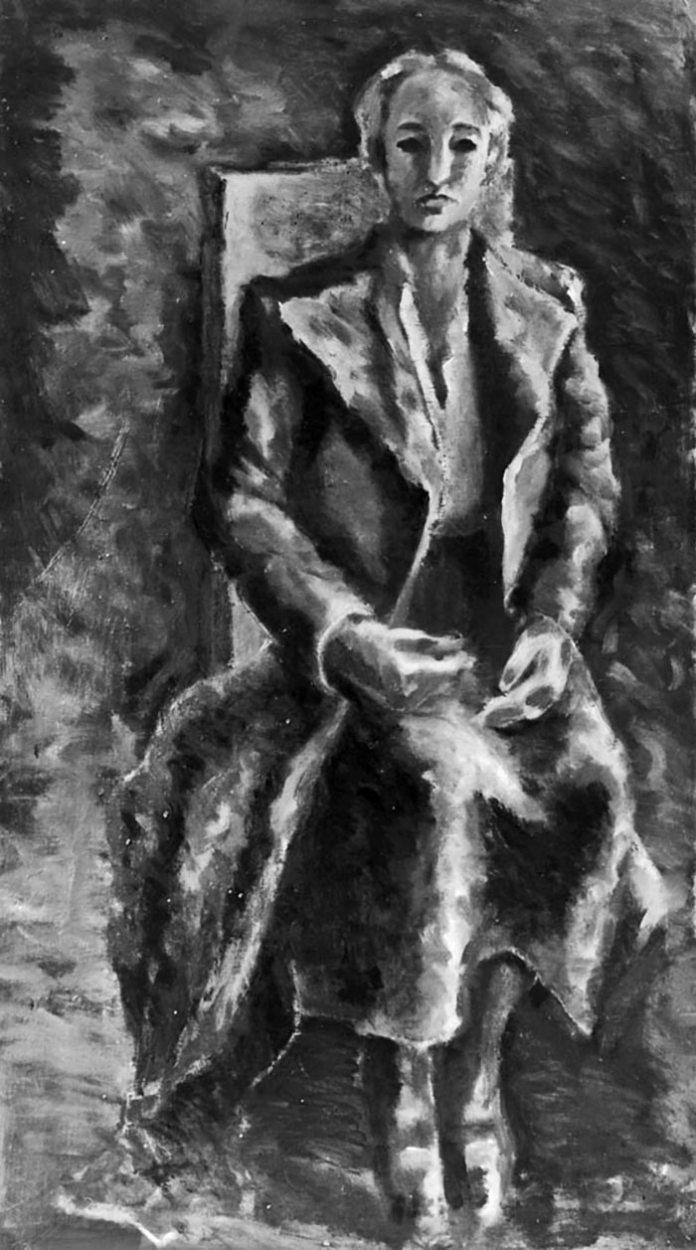 Володимир Ласовський. Портрет матері Антоніни Ласовської
