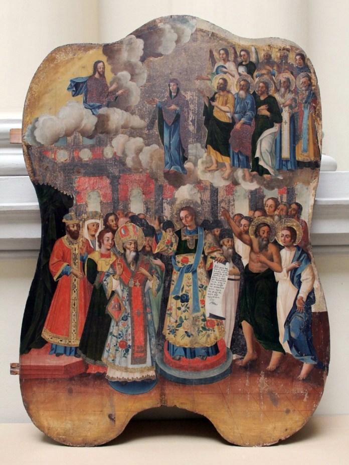 Покров Богородиці, перша половина XІV ст., с. Малнів, Яворівщина