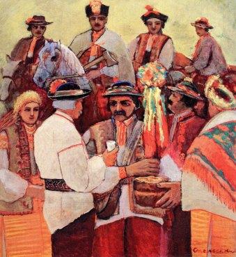 11. Григорій Смольський. Весільні старости, 1972