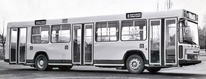 Перший прототип автобуса ЛіАЗ-5256, побудований в експериментальному цеху ВКЕІ «Автобуспром» в 1979 році. Проходив випробовування у Львові