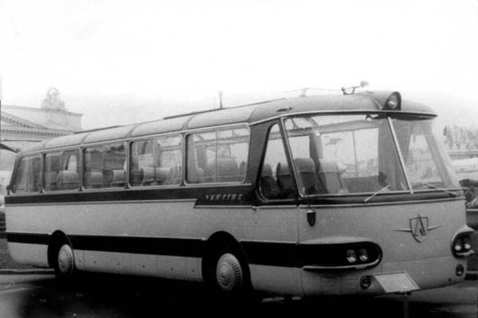 Експериментальний автобус «Україна-2» 1961 р.
