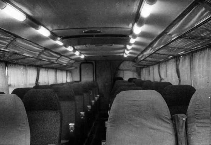 Салон туристичного автобуса-прототипа ЛАЗ-699 «Карпати-2»