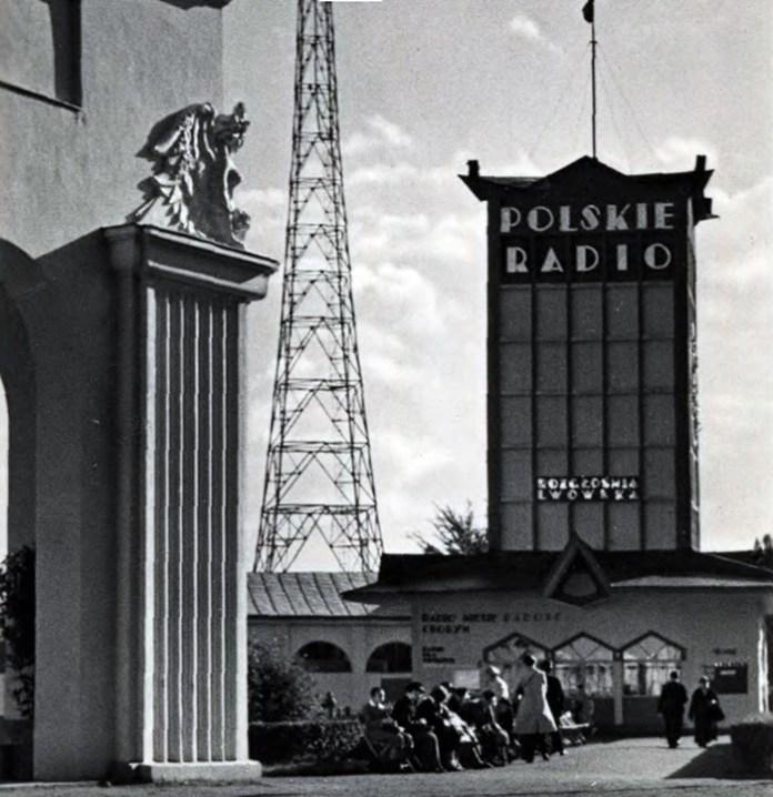 Павільйон польського радіо на Східних Торгах в Львові, 1920-1930-ті рр.
