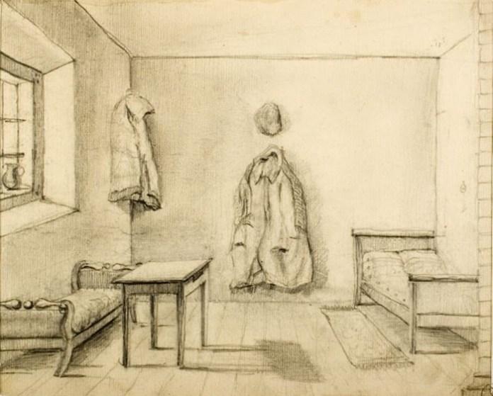 Тюремна камера в Кобрині