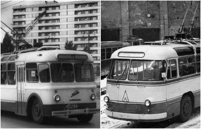 Нарис з історії проектування і виробництва тролейбусів в Україні. Українські тролейбуси часів СРСР (1960-ті – 1980-ті роки)