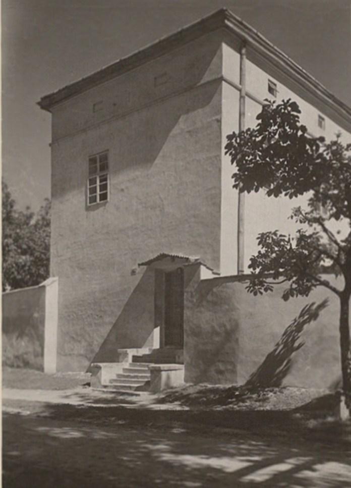 Сходи до костелу Св. Казимира, 1921 р. Фото: Ян Булгак