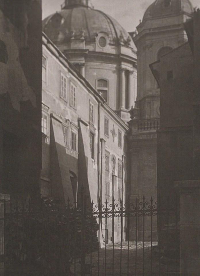 Костел домініканців, 1921 р. Фото: Ян Булгак