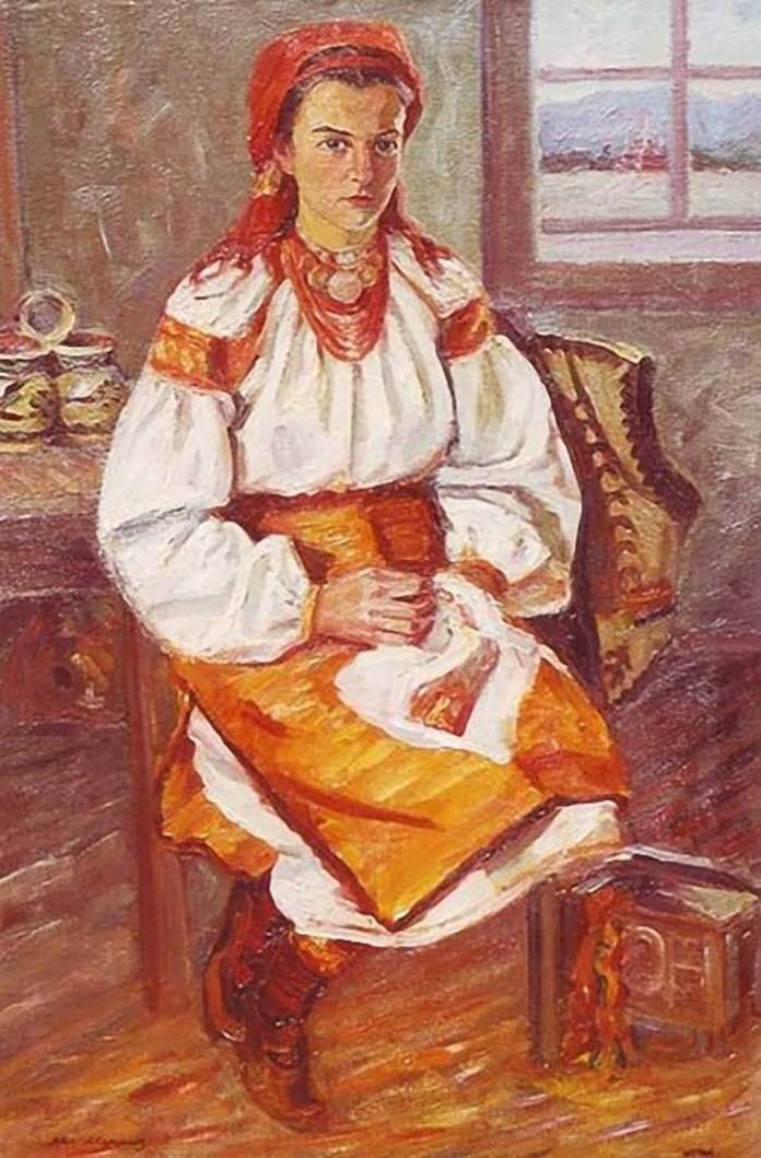 Михайло Мороз. Гуцулка, 1970-ті рр.