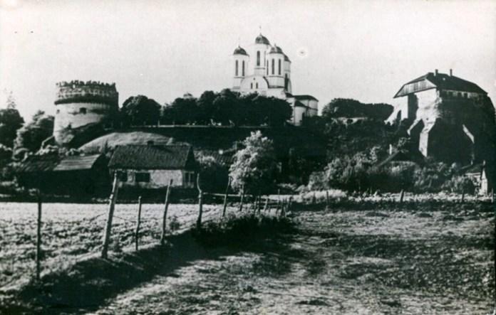 Острог, замок і собор 1930 рік