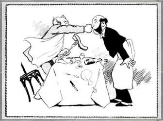 Львівська довоєнна карикатура