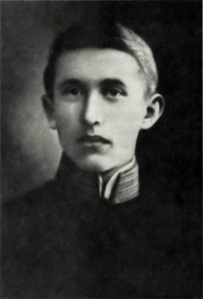 Євген Коновалець – учень Академічної гімназії у Львові. 1905 р.