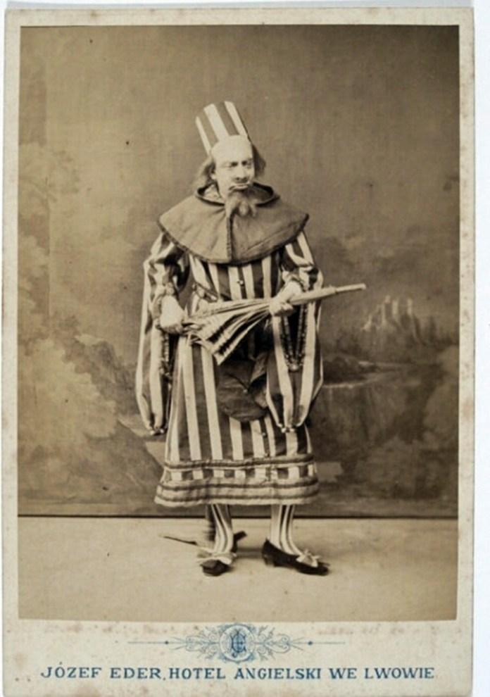Актор Тадеуш Скальський в постановці «Ніч в Венеції», 1880 р.
