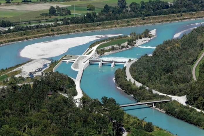 Проектована МГЕС на річці Стрий. Джерело: balford.com.ua/