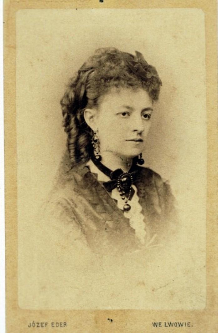 Портрет Хелени Моджеєвської, 1873 р.