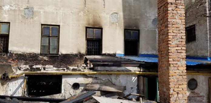 Результати пожежі в музеї «Тюрма на Лонцького»