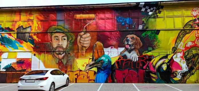 Творчий проектАЛЯРМ Графіті-фестивалю 2020 року на вул. П. Мирного, 24. Світлини зі сторінкиalarmjam