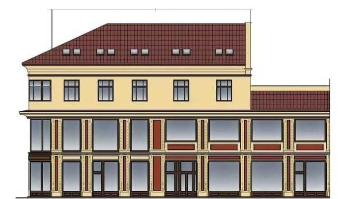 На вул. Коперника,1 збудують 3-поверховий будинок (графіка ПП «Ареал Плюс»)