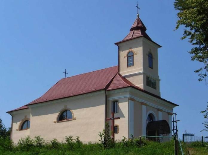 Церква в Любинцях. Джерело map.ugcc.ua/