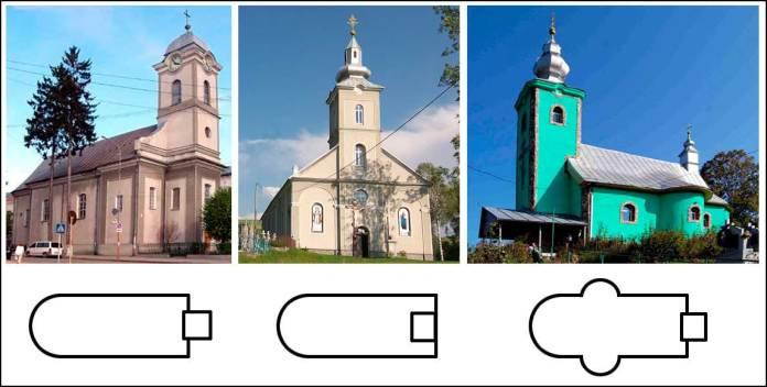 Закарпатські церкви у м. Хуст (dzerkalo-zakarpattya), смт. Ясиня (drymba) і с. Порошково (zakarpattya)