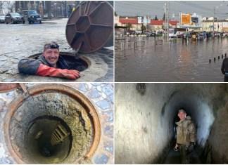 Підземний водоспад на вулиці Городоцькій, або чому затоплює Привокзальну