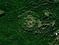 Геогліф біля с. Хлопчиці, в лісочку при дорозі з Рудок до Самбора
