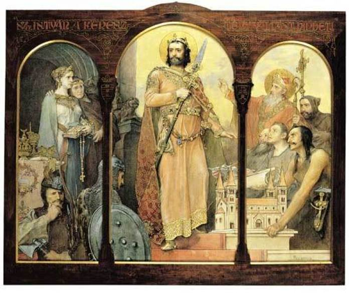 Ігнатій Рошкович. Святий Стефанпроповідуєхристиянську релігію