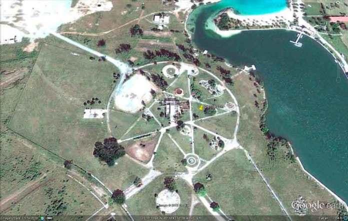 Геогліф на Кубі біля місцевості Тарара