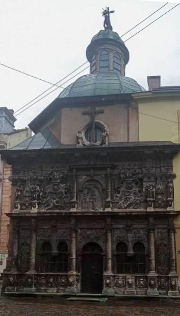 Каплиця Боїмів. Фото Мар'яни Іванишин.