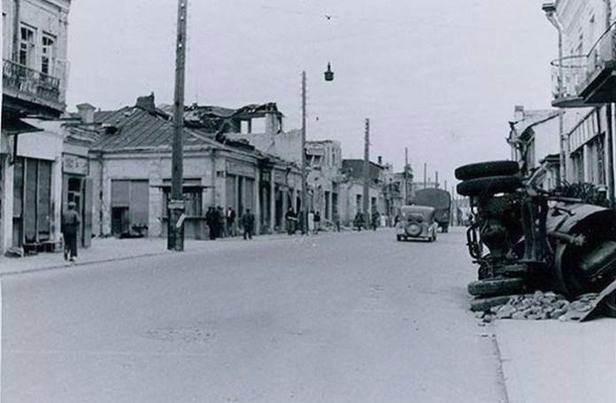 Вулиці міста, червень 1941 року