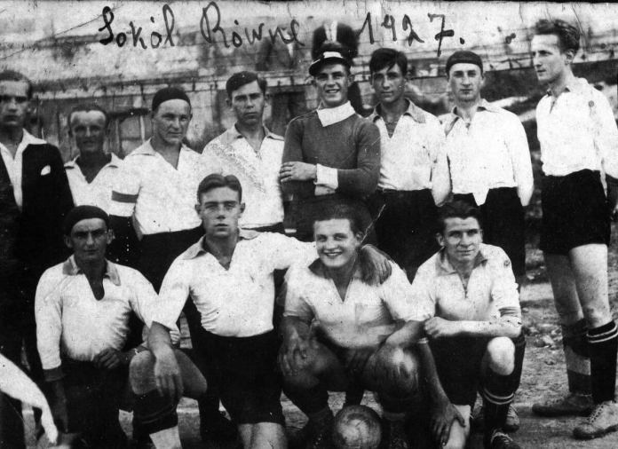 """Сокол"" Рівне 1927 рік"