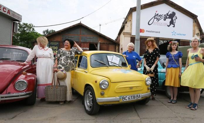Презентація жіночого екіпажу, який представлятиме Україну на змаганнях «Монте-Карло Класік». Світлив Євген Кравс
