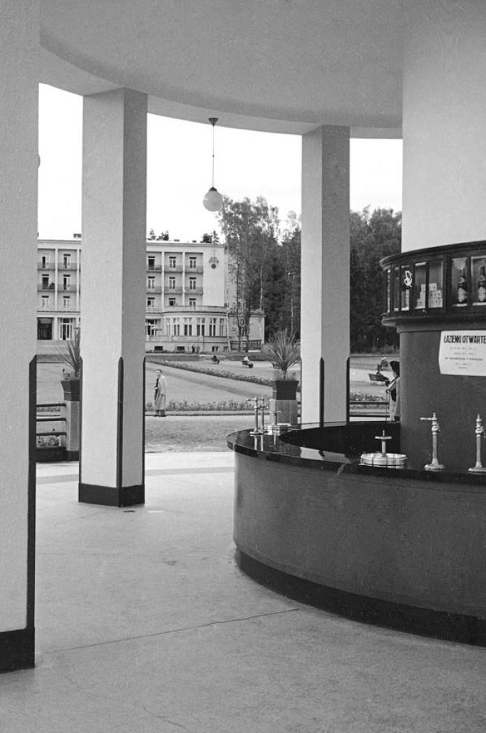 """Моршин. Бювет мінеральної води """"Боніфацій"""" (нині - джерело № 1), 1938 р."""