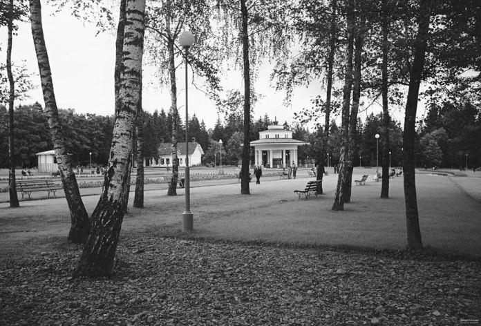 "Санаторій ""Моршин"", 1938 р. Бювет."