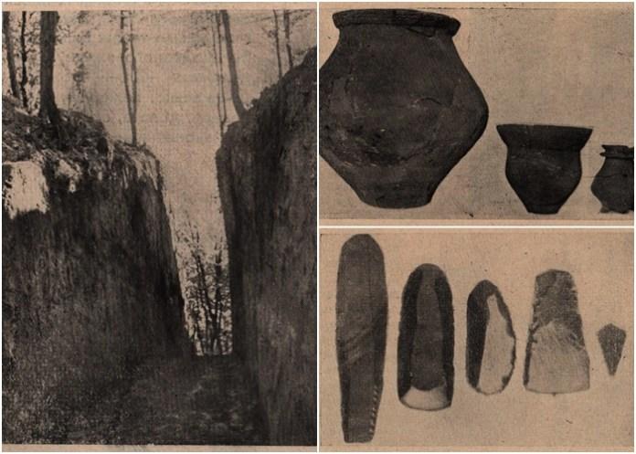 Що знайшли археологи на розкопках у Малих Грибовичах в 1930-х роках