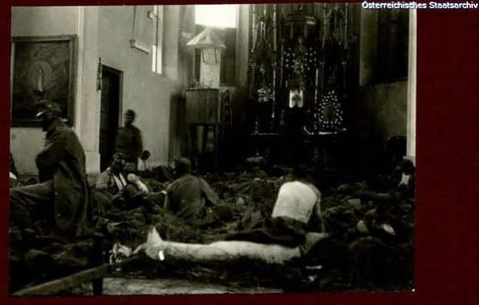 Олесько часів Першої світової війни