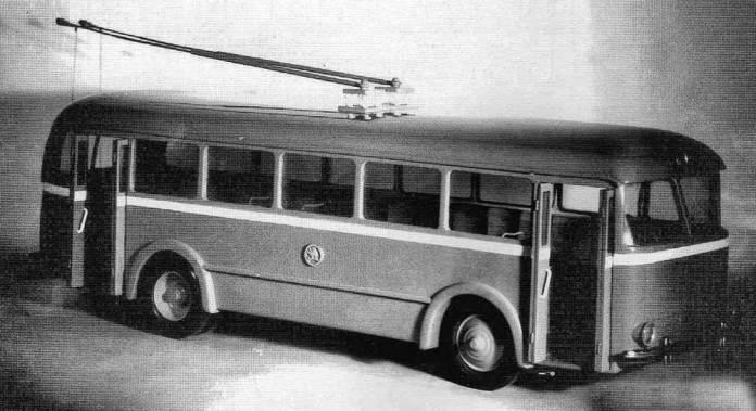 Так мав виглядати тролейбус «Škoda 5Tr»