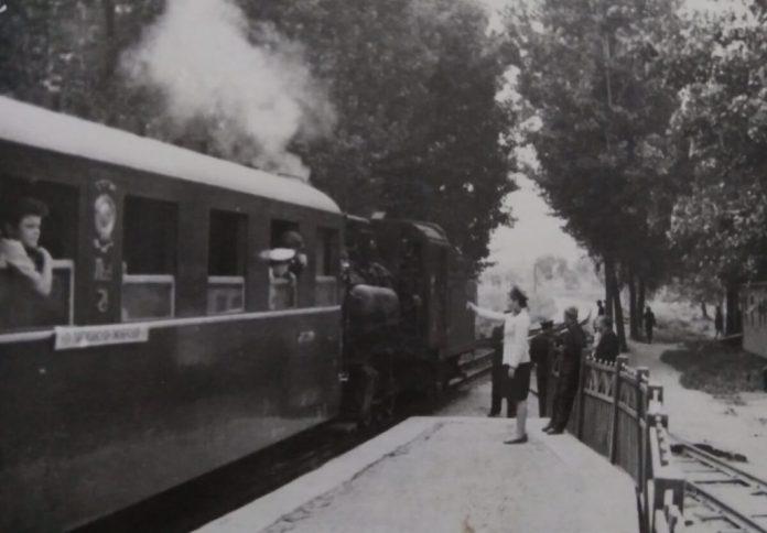 На пероні дитячої залізничної магістралі