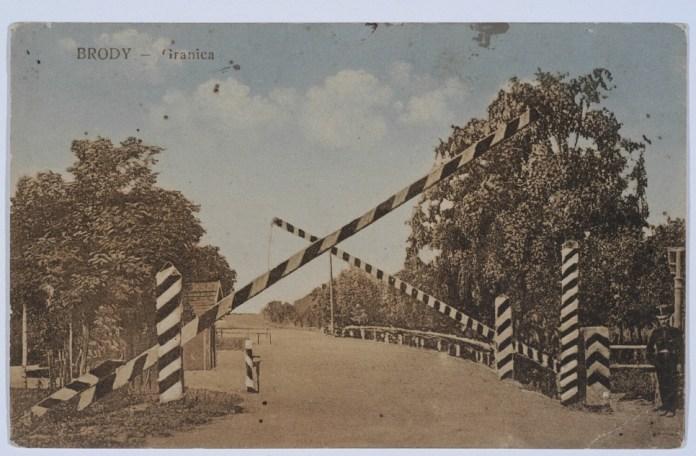 Границя в Бродах, 1900-1910 рр.