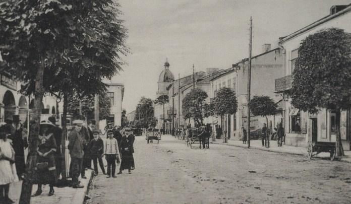 Ринок в Бродах, 1900-ті рр.