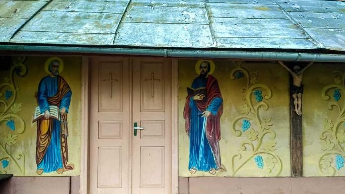 Паламарка-сповідальниця підгірцівської церкви. Світлина Ігоря Скленара
