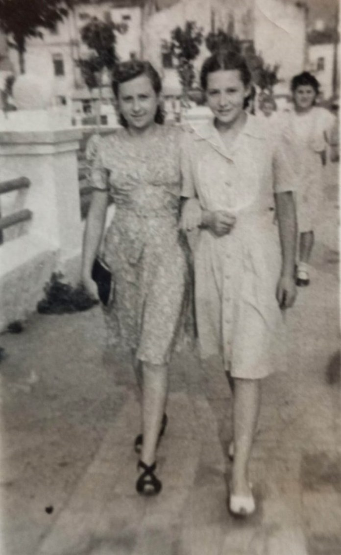 Раїса Судик та Наталя Негребецька, 1946 рік