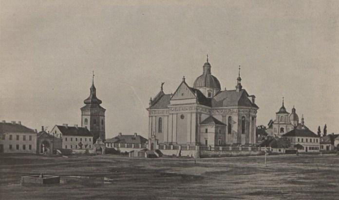 Колегіата в Жовкві, 1900 р.