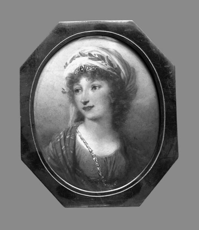 Віджи Лебрун, портрет Розалії Любомирської