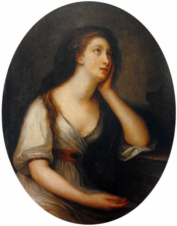 Художниця Женев'єва Броссар де Белью, портрет Розалії Любомирської