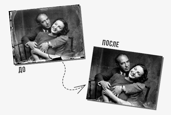 Редактор старых фотографий — восстановление и обработка
