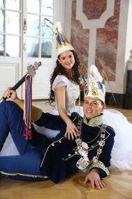 , Shooting mit Joti I. und Sabine II. – das Mannheimer Stadtprinzenpaar