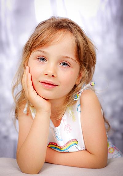Kinderfotos im Fotostudio