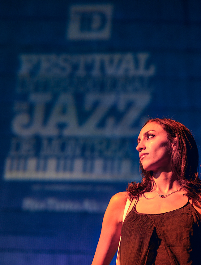 Maryam at Jazz Fest