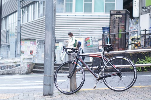 In front of Tokyu-Hands Shibuya
